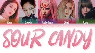 Download Mp3 Lady Gaga, Blackpink - Sour Candy  Color Coded Lyrics Eng/rom/han