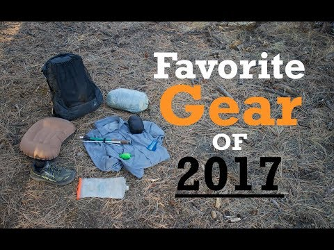 My Favorite Backpacking Gear of 2017 (Top 10)