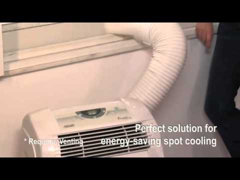 Installing A Portable Air Conditioner   Portable Air Conditioner Review