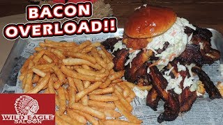Giant Bacon Burger Challenge Record in Cleveland w/ Joel Hansen!!