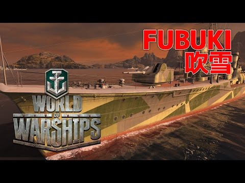 World of Warships - Fubuki Torpedo Tactician