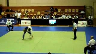 2012 ACT International Open - JUDO - Sam Patrick (White) Vs. Jonas Fisher (Blue)