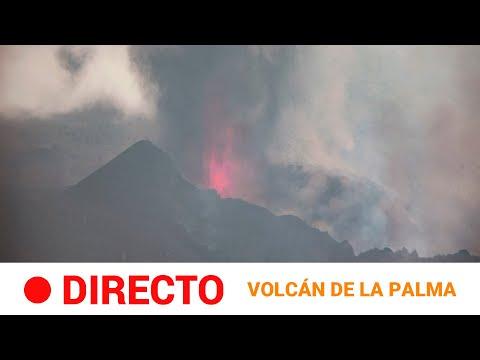 VOLCÁN en LA PALMA: Sigue la erupción declarada en la CUMBRE VIEJA (día 8)   RTVE