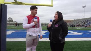 Premium Athlete of Cathedral HS Alex Franco talks with In the Front Row sports