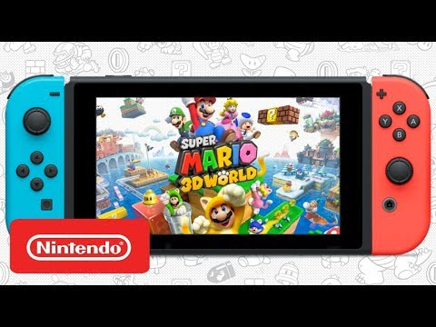 Super Mario 3D World - Nintendo Switch Announcement Trailer (Fan Made)