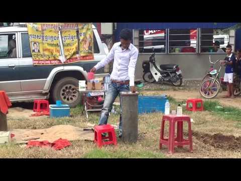 Khmer Magic Tricks / Cambodian Magic Show / Battambang Magic / Khmer Street Magic