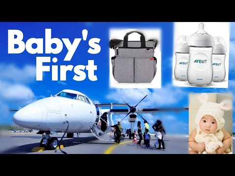 FLYING WITH A BABY | TIPS & ADVICE | How To Fly With A New Born | BABY'S FIRST FLIGHT| ZARIA YONG