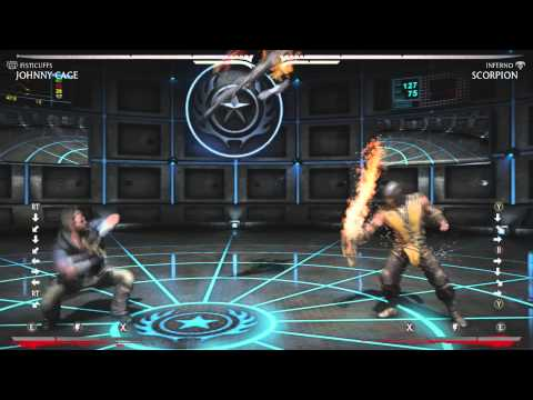 Mortal Kombat X: Dealing with Inferno Scorpion