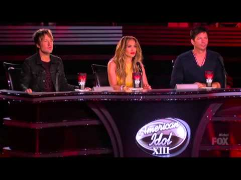 Jena Irene with Caleb Johnson 16 - American Idol S13E28a Give Me Shelter