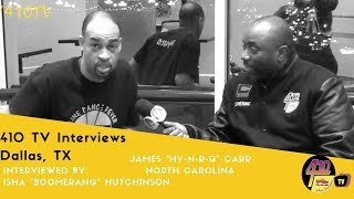 "Ep 28: Interview with James ""Hy-N-R-G"" Carr, Durham, NC,  soul line dancing interviews"