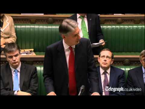 Defence Secretary Philip Hammond: