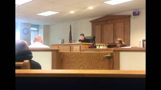 clatsop cunty judge cindee matyas says im rude but can t answer my questions