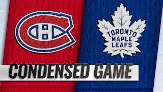 09/24/18 Condensed Game: Canadiens @ Maple Leafs