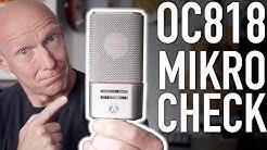 Mein Mikro-Check: Das Austrian Audio OC818 | Abmischen Tutorial | Recording-Blog