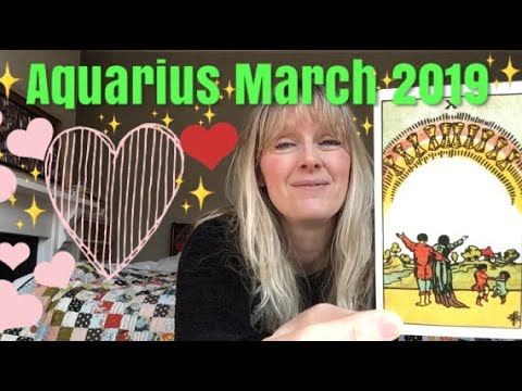 Aquarius ~ Big Love Coming In For You! - March 2018