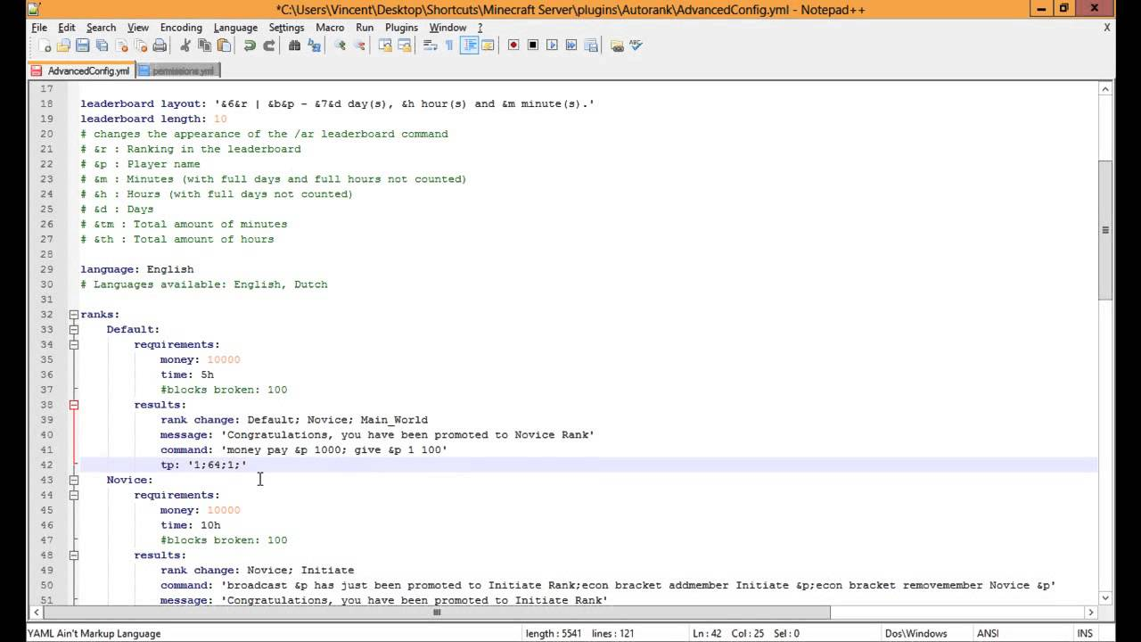 Overview - Autorank - Bukkit Plugins - Projects - Bukkit