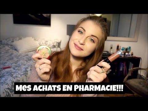 Mes achats en pharmacie - Les nouveaux produits!!!