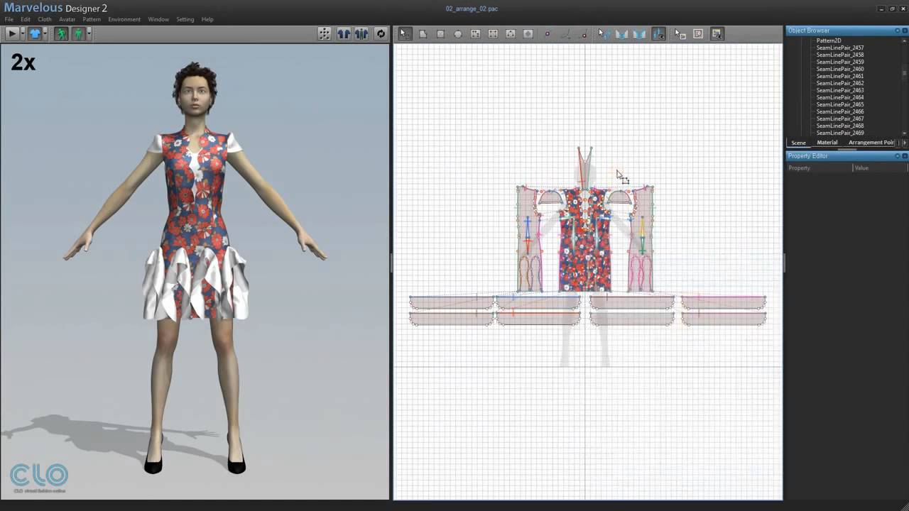 Fashion Design Programs 3d Clothes Making Youtube