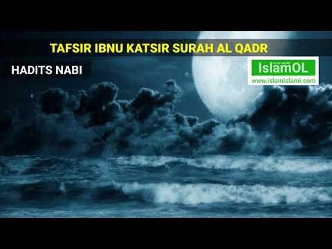 Gambaran Malam Lailatul Qadr Menurut Quran dan Hadits, Dahsyatnya Alunan Surah Al Qadr