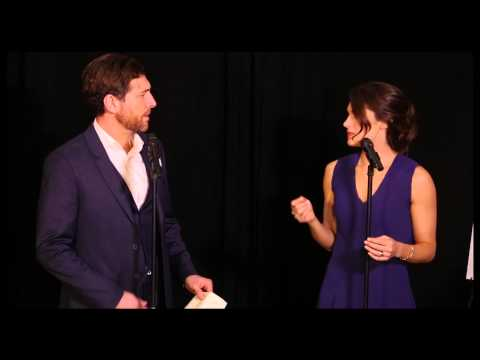 Tam Mutu and Kelli Barrett Sing