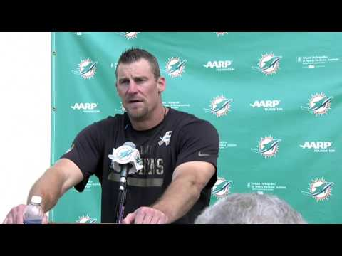 Miami Dolphins head coach Dan Campbell on first practice