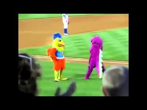 MLG Barney Vs MLG Chicken