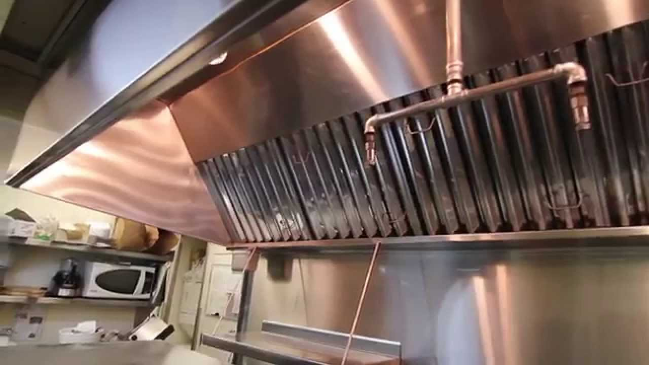 Kitchen Exhaust Fan Commercial Danze Faucet Cleaning Vent Youtube