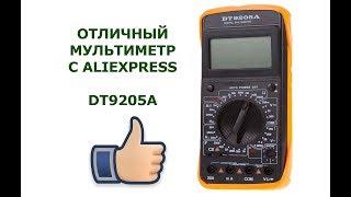 Обзор мультиметра DT 9205A