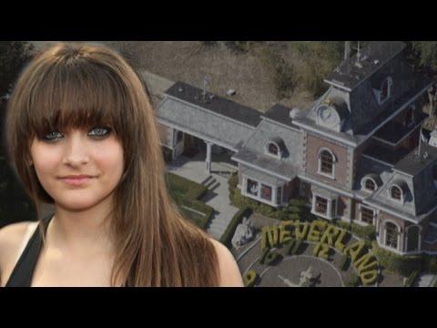 Paris Jackson Returns to Neverland Ranch