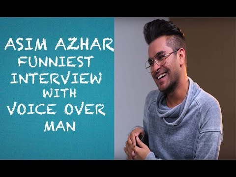 Funny Asim Azhar Interview with Voice Over Man - EPISODE 06