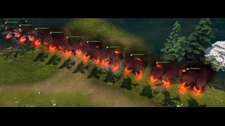 Dota 2 - Grillhound Effect Evolution ( 10 levels of effect from 0 up to 1159 game views )