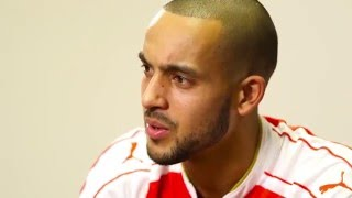 Twitter Takeover: Theo Walcott on Rambo and Per's dancing