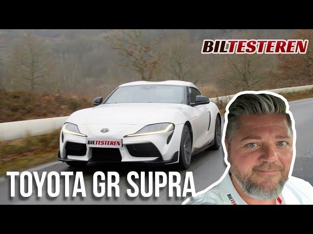 Skal du vælge 4 eller 6 cylindre? Toyota GR Supra (test)