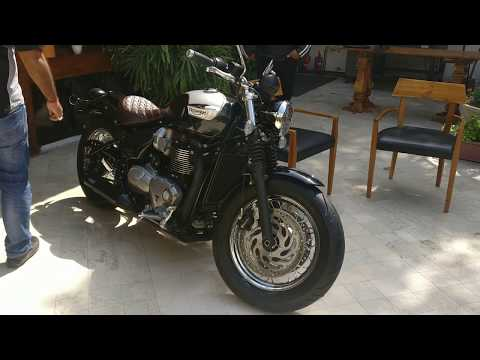 New 2018 Triumph Bonneville Speedmaster | First Look & Launch | Motown India