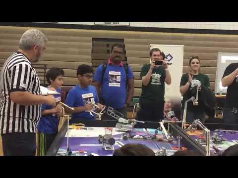 Robot Performance Match 1 . Vanston Middle School qualifier Mesquite