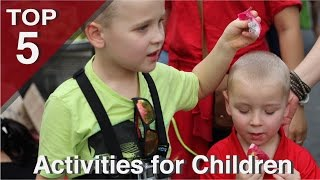 Top 5 Children Activities in Ho Chi Minh City Vietnam!