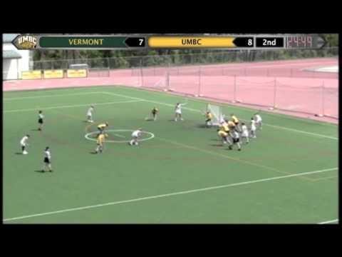UMBC Women's Lacrosse vs Vermont 4-14-12 Highlights - YouTube