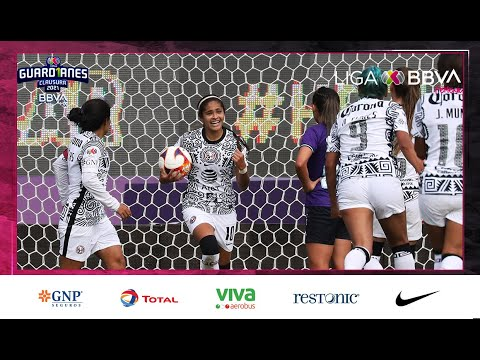 Gol de D. Espinosa   Mazatlán 1 - 1 América   LigaBBVAMXFemenil   Guard1anes 2021 J3