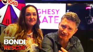 Message for Bondi Rescue from Hughsey & Kate