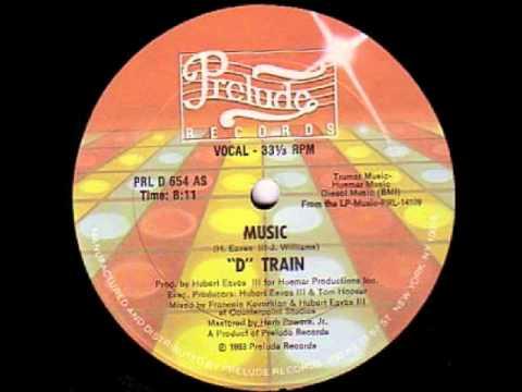 D Train - Music 1983 Complete 12'' Maxi