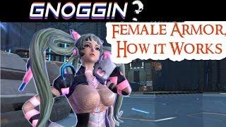 Female Armor, How it Works | Gnoggin