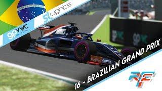Rfactor 2 Esports l GPVWC Sim Racing 2019 l SimNews.TV Superleague Lights | Round 16 | Brazil