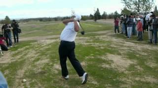 YardasTour - Angel Cabrera en Slow Motion en Valle del Golf