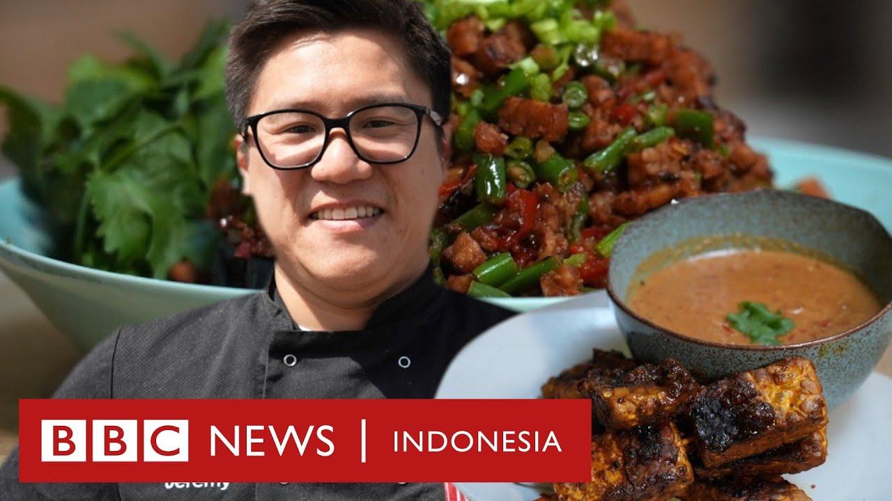 Resep tempe: Menantang chef Inggris Jeremy Pang masak sambal dan satai tempe - BBC News Indonesia