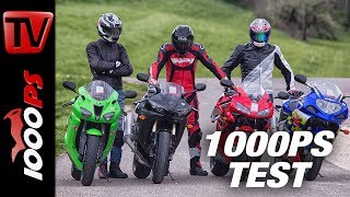 1000PS Review - Used 600cc supersports in comparison - 4000 to 5000 €