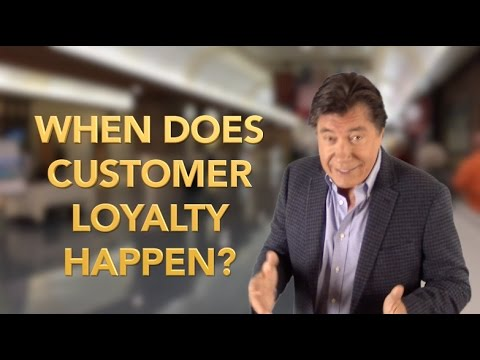 WHEN DOES CUSTOMER LOYALTY HAPPEN? | Leadership Keynote | Ross Shafer