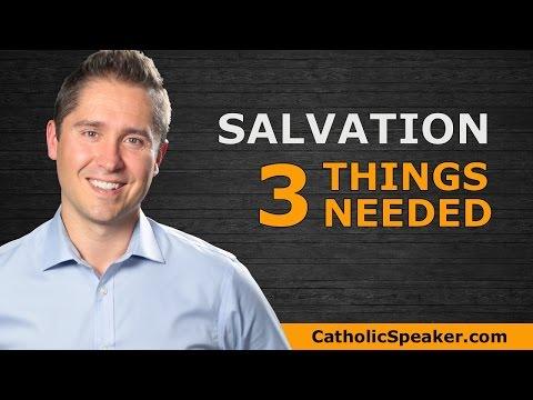 Roman Catholic Salvation: 3 Things Taught By The Catholic Church: Speaker Ken Yasinski