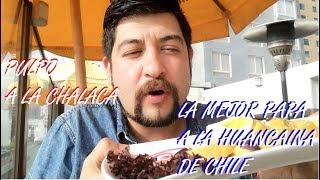 CHILENO PROBANDO LA MEJOR PAPA A LA HUANCAINA DE CHILE -  RESTAURANTE PERUANO