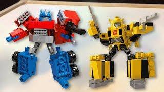 Giant Fun Surprise Show Kreo Transformer Optimus Prime Bumblebee Superheroes Toys Kids Video