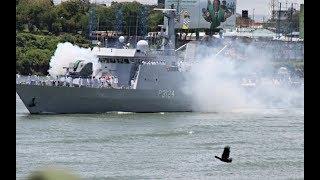 MASHUJAA DAY FETE: Pomp and colour as Navy ships make 21-gun salute